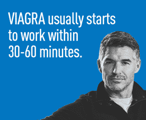 how long Viagra works