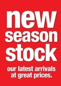new arrivals stock