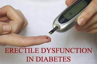 ED and diabetes