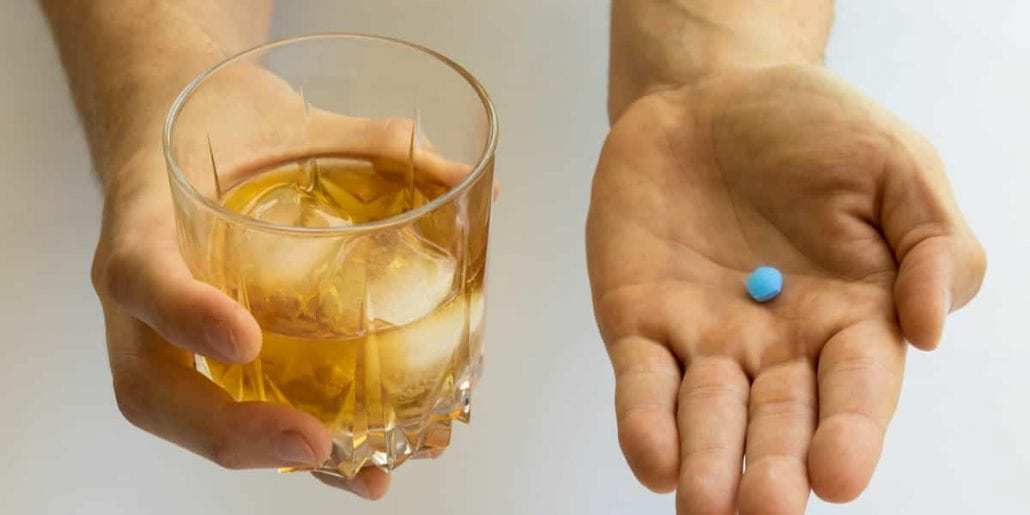 viagra and whiskey drink