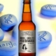 can you drink alcohol while on viagra