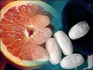 grapefruit drugs