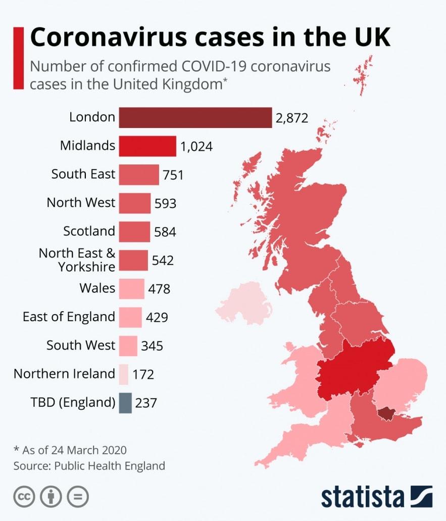 covid map uk