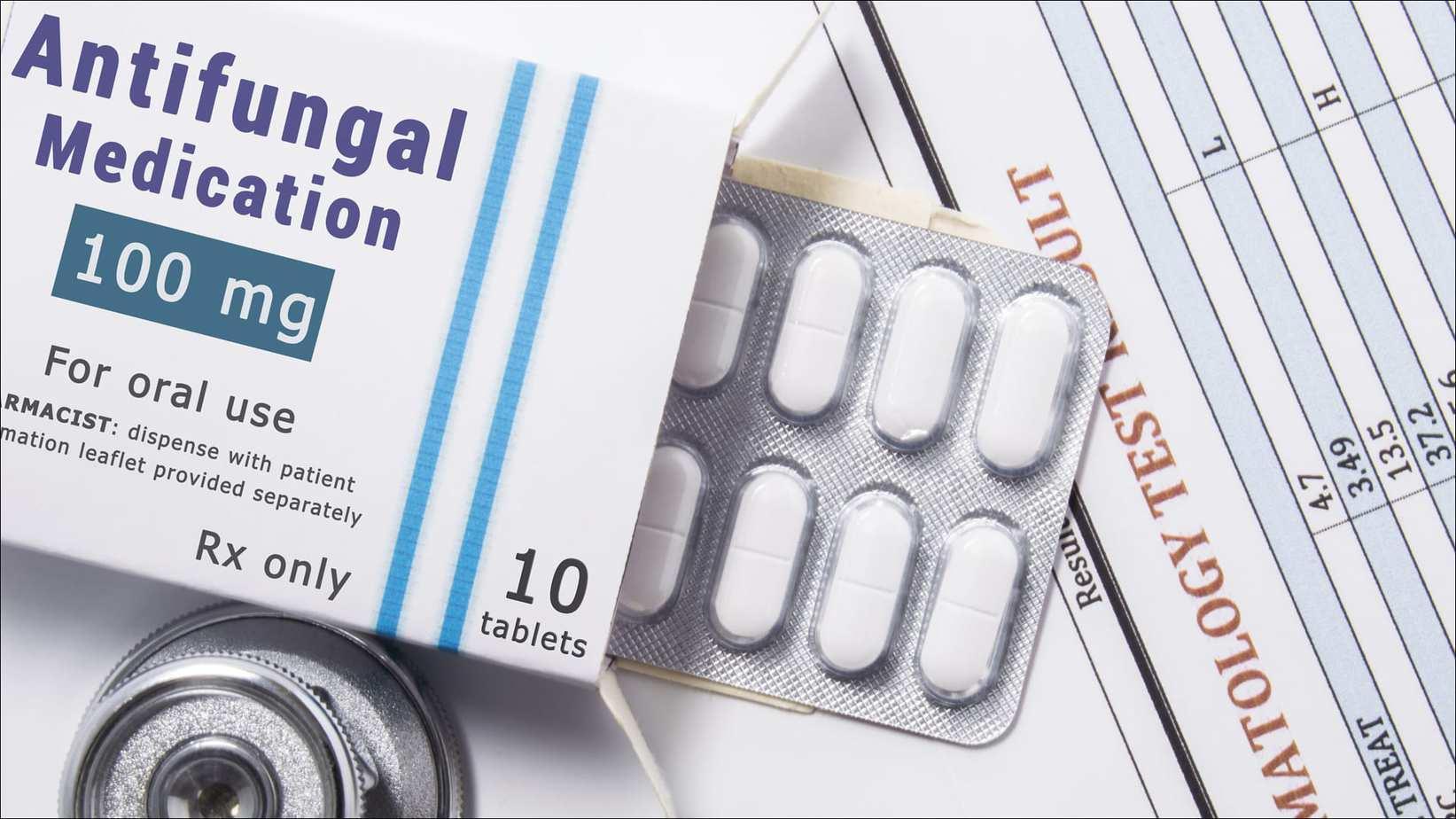 antifungals yeast infection